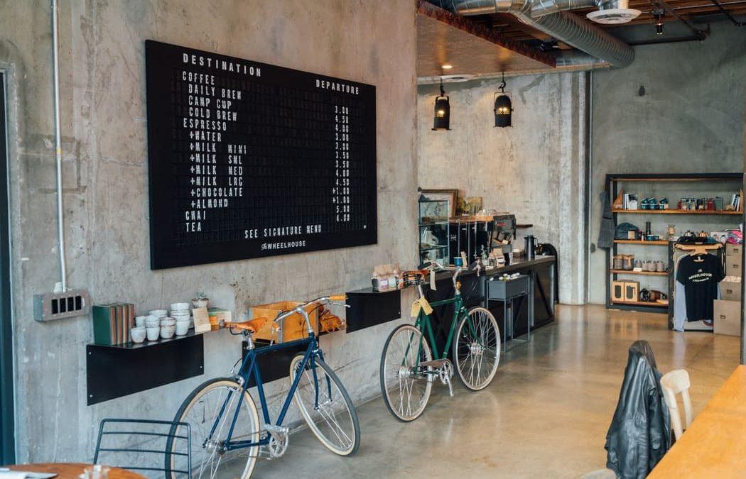 Modern and Urban Coffee shop
