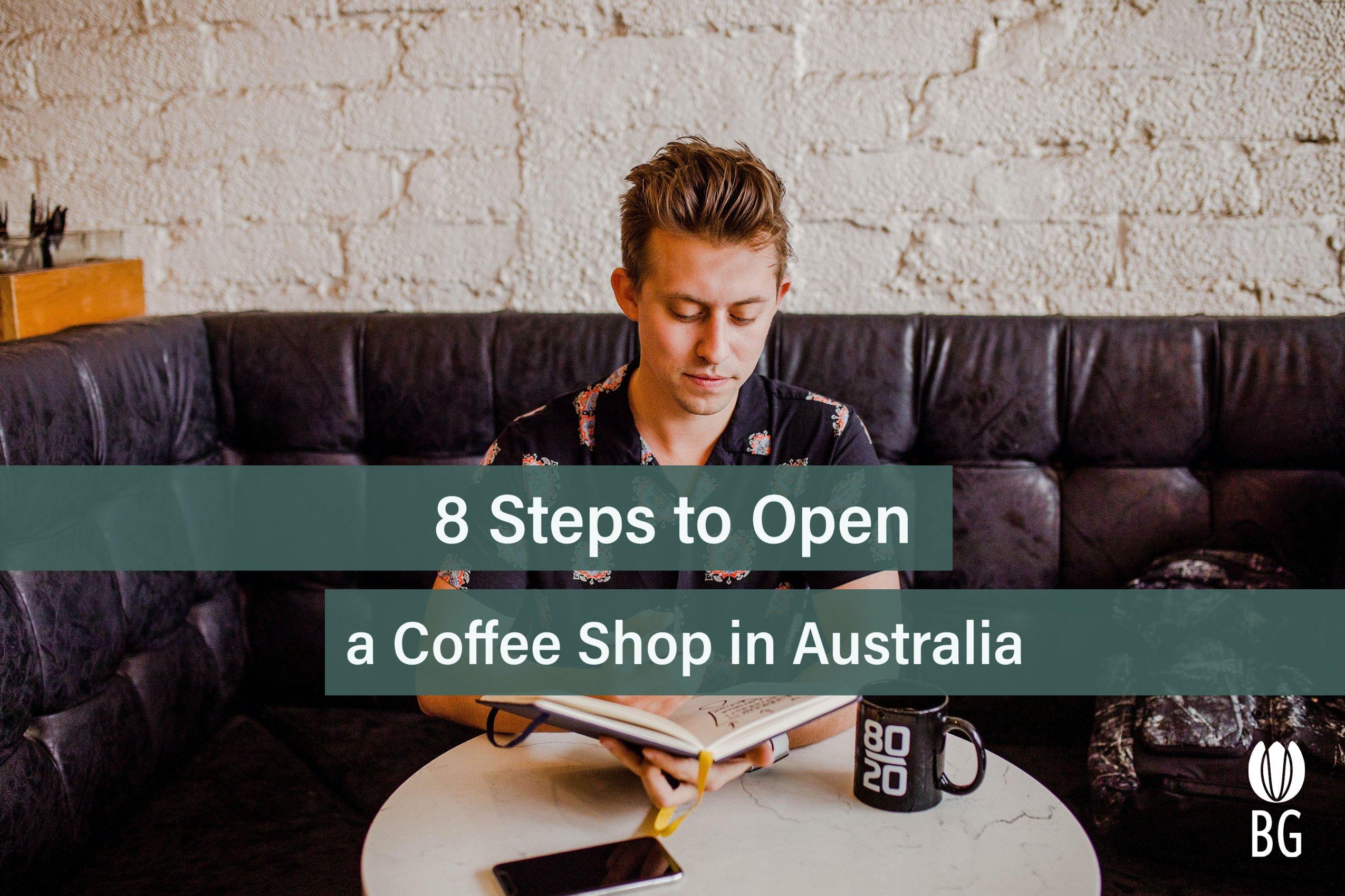 open a coffee shop in australia