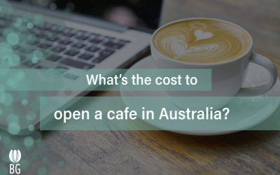 What is the cost to open a cafe in Australia?
