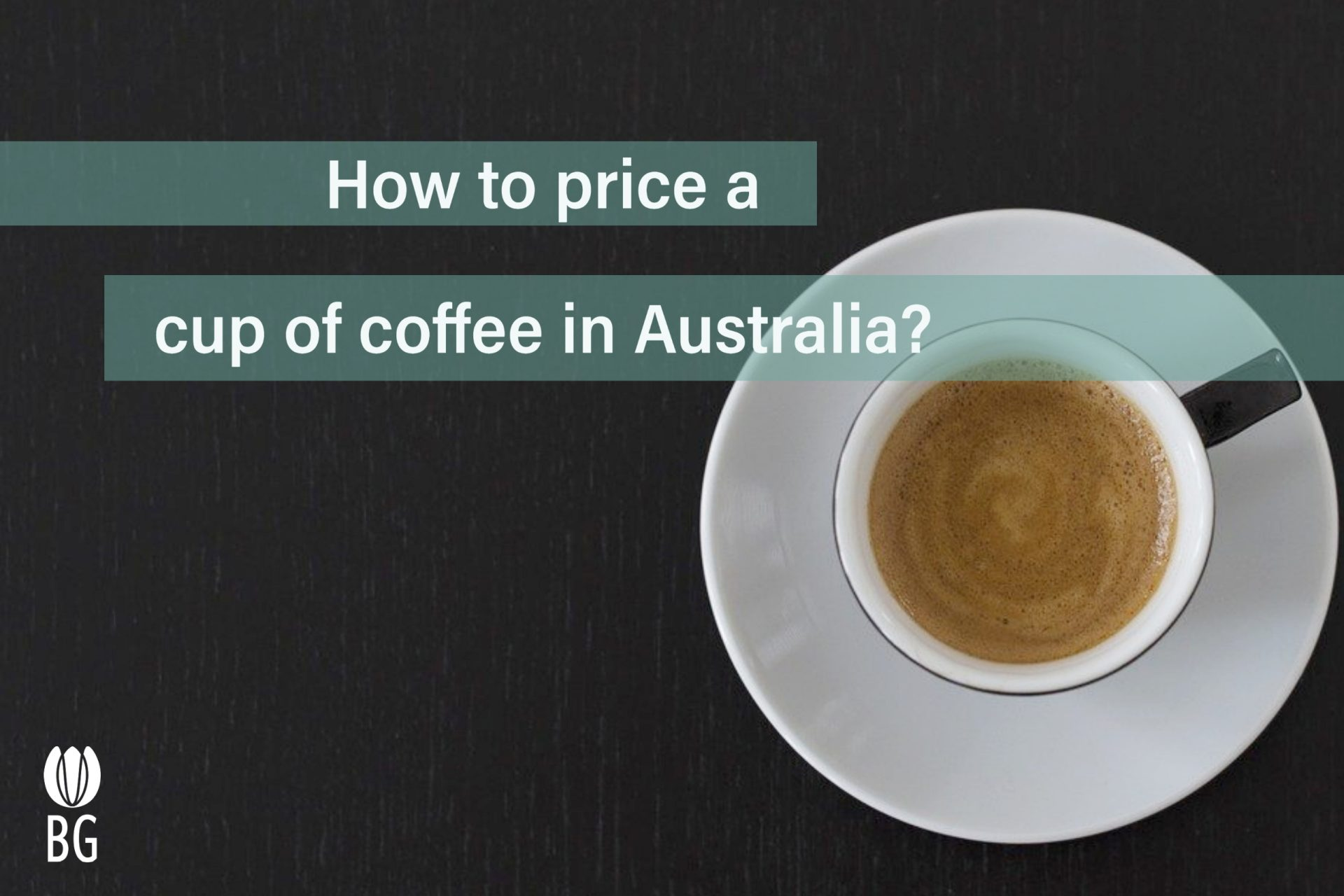 how to price a cup of coffee